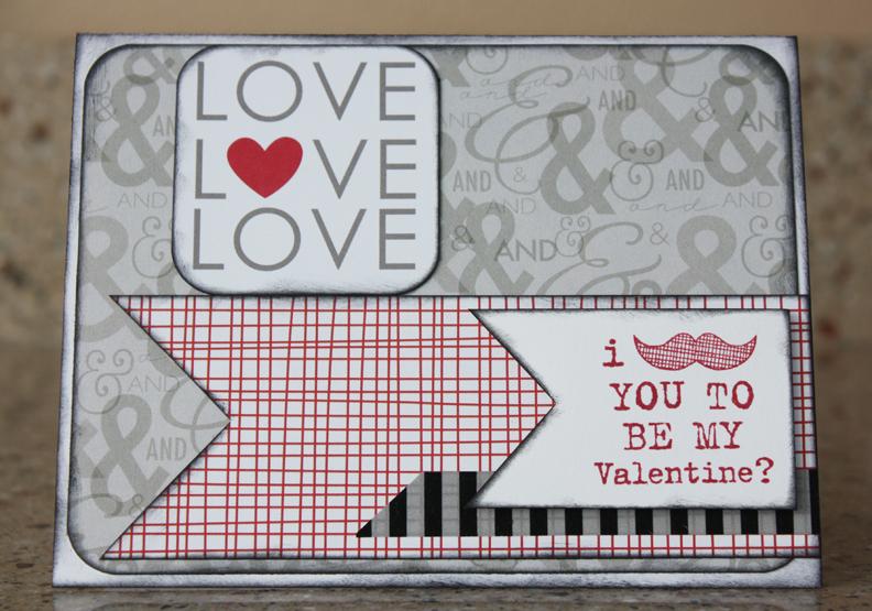 Morgan bandkowski Be My Valentine Card