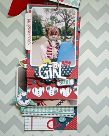 Jen Chesnick- All American Girl- Patriotic Mini-3