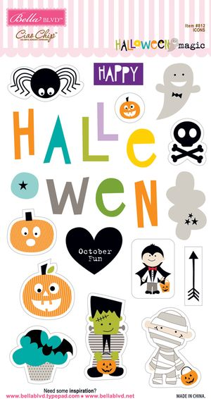 812 HALLOWEEN MAGIC CHIP ICONS