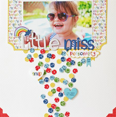 Jen Chesnick- Little Miss Personality- 5 Colors Challenge