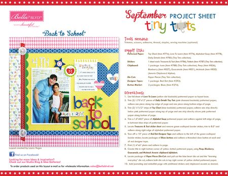 9-2014 BBLVD TINY TOTS PROJECT SHEET_blog