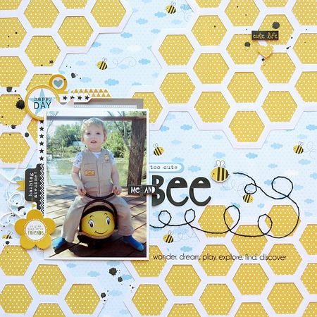 1. BBlvd - Melinda - Me and Bee - Layout