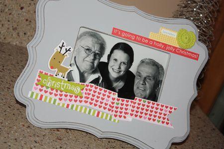 Bandkowski Christmas Cheer frame