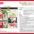 Christmas Cheer Project Sheet 2014
