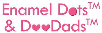 LOGO-ENAMEL DOTS AND DOODADSLOW RES