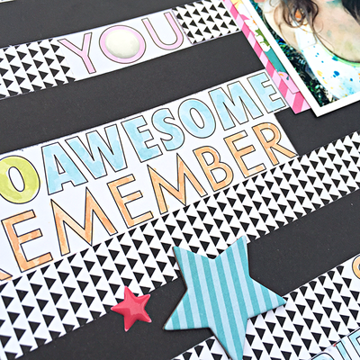 Hashtag Awesome Colors by Heather Leopard BB