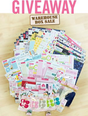 GIVEAWAY WAREHOUSE BOX