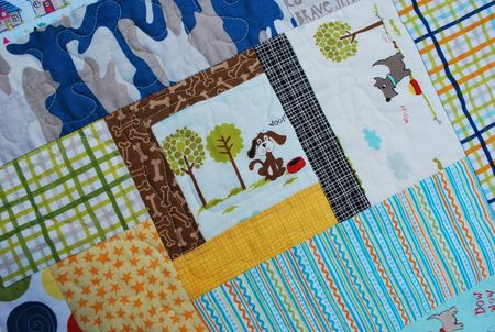 Photo 2 KFrye baby boyquilt detail