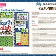 Campout Project Sheet 2015