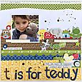 T Is for Teddy - Kristine Davidson