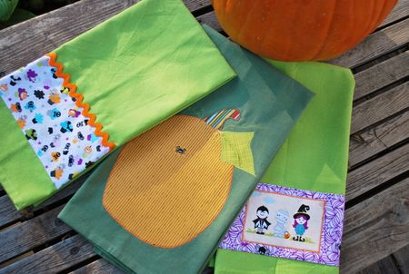 Kathy F photo 2 halloween towels