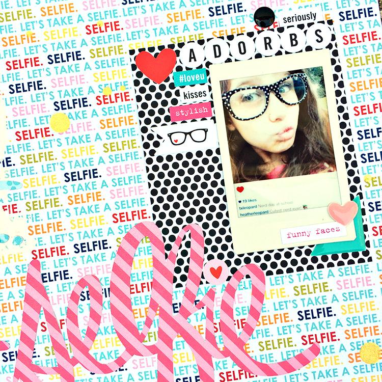 BB Selfie 1 by Heather Leopard