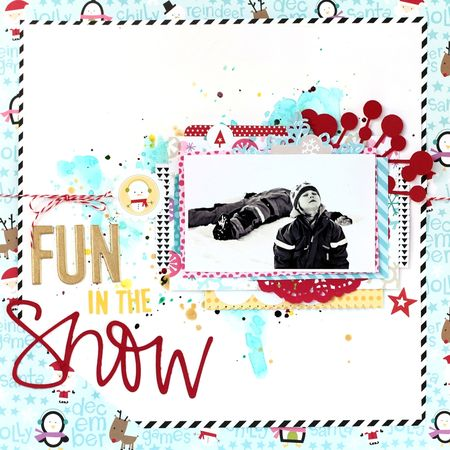 Fun in the snow - Christin Gronnslett 01