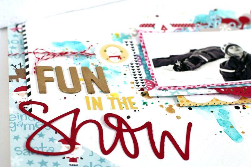 Fun in the snow - Christin Gronnslett 02