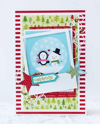 Julia Akinina- Winter friends Christmas card