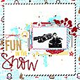 Fun in the snow - Christin Gronnslett 01