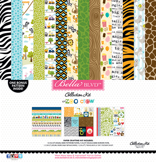 1172 ZOO COLLECTION KIT