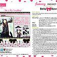 Bella Bows Project Sheet 2016