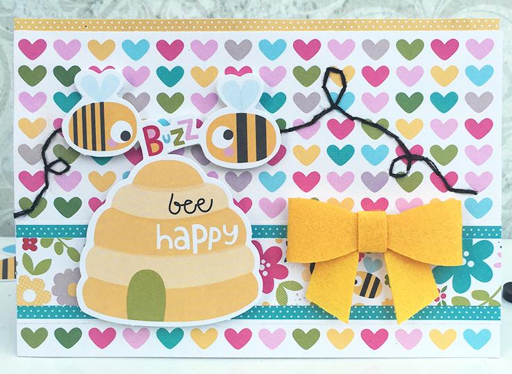 Heather Leopard_Sweet Sweet Spring_BeeHappyCard
