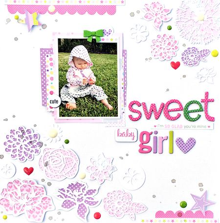 BB Sweet Baby Girl by Heather Leopard