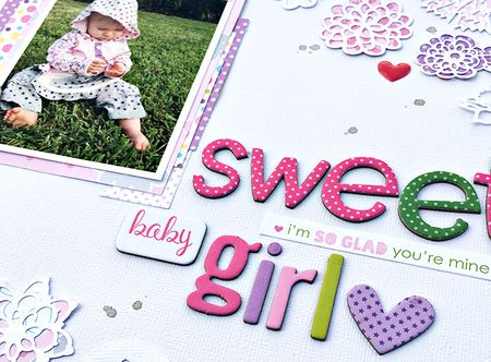 BB Sweet Baby Girl Title by Heather Leopard