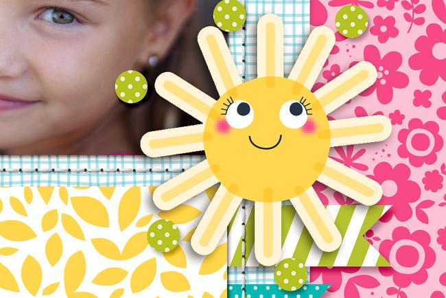 Happy Smiles by Krista Lund detail 2