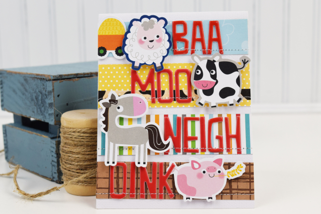 Becki Adams_Farm Animal Card
