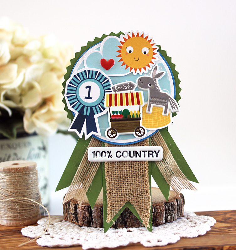 100% Country Ribbon by Laurie Schmidlin