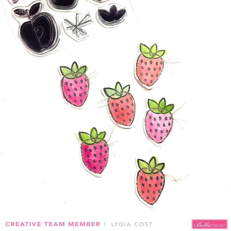 Lydia_Summer Strawberries_Watercolor_1