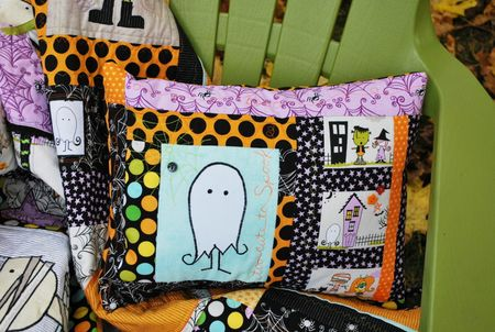 K Frye Photo 5 Halloween Pillow