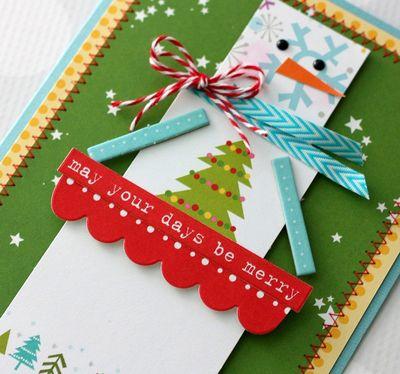 Shellye McDaniel-Square Snowman Card2