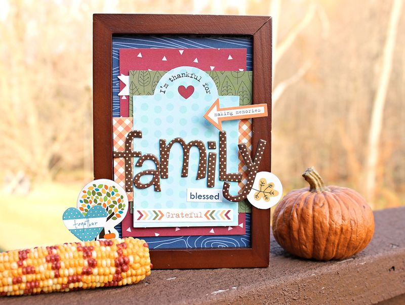 Angie Gutshall Framed Project