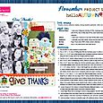 Hello Autumn Project Sheet 2014