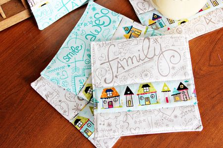 ChristineOusley_FabricCoasters2