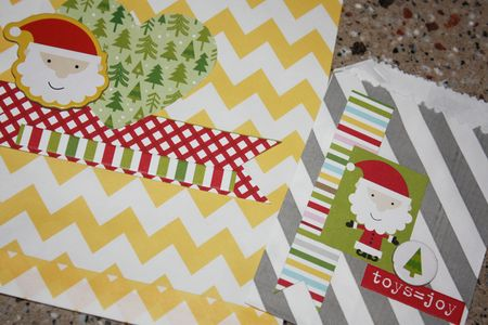 Bandkowski Christmas Cheer Treat bags detail