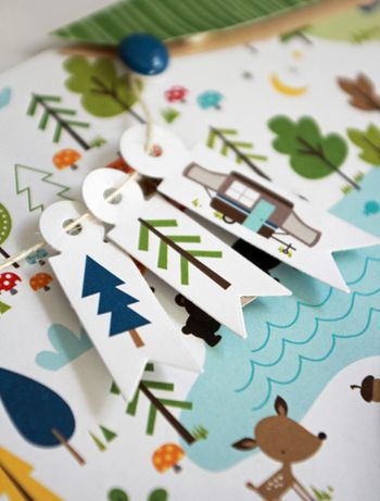 Jen Chesnick- Camp Out Collection- Campfire Cones- details 2