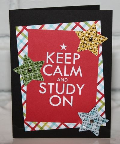 M_Bandkowski Keep Calm Star Student