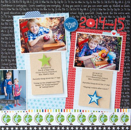 Susan weinroth - school time layout
