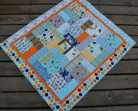 Photo 1 KFrye baby boy quilt