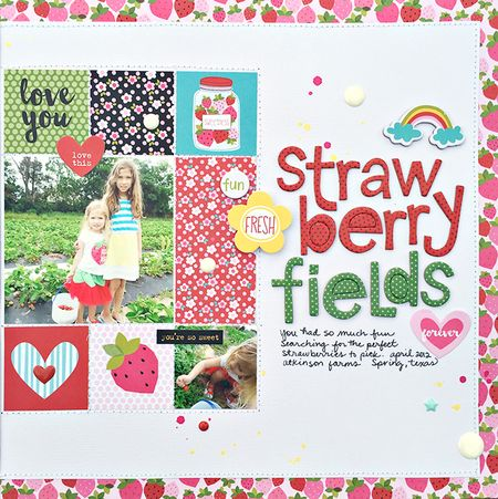 Strawberry fields forever P2 by heather leopard