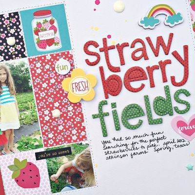 Strawberry fields forever page 2 by heather leopard