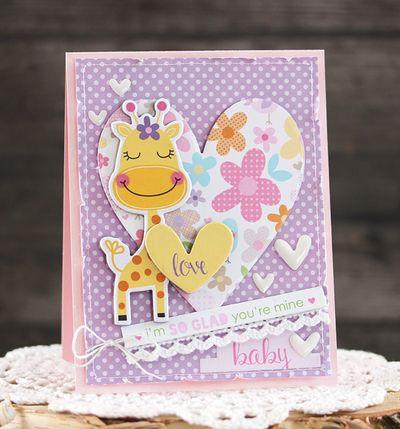 LaurieSchmidlin_BabyMine_Card-SweetBabyGirl