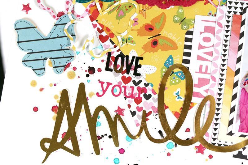 Christin Gronnslett - Love your smile - detail 03