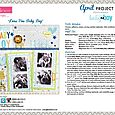 Cute Baby Boy Project Sheet 2016