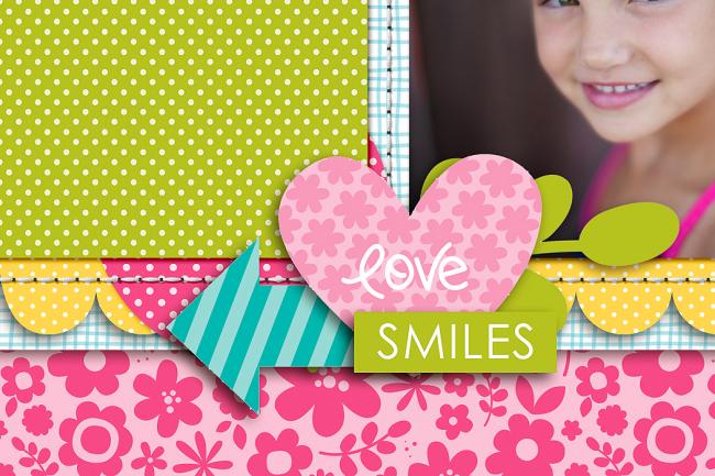 Happy Smiles by Krista Lund detail 3