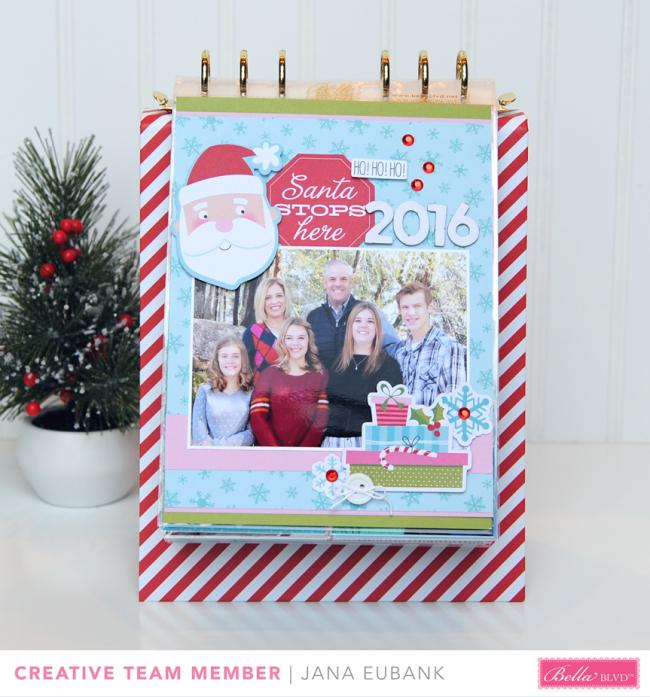 Jana Eubank Bella Blvd Santa Stops Here Album 1 bb