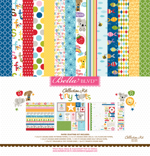 832 COLLECTION KIT TINY TOTS