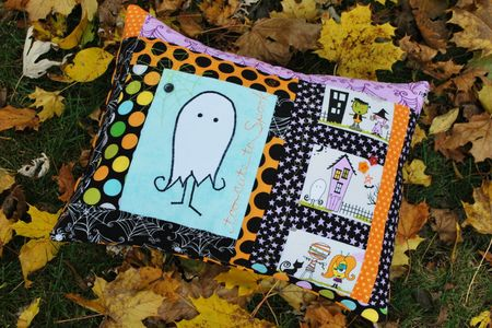 K Frye Photo 1 HalloweenPillow