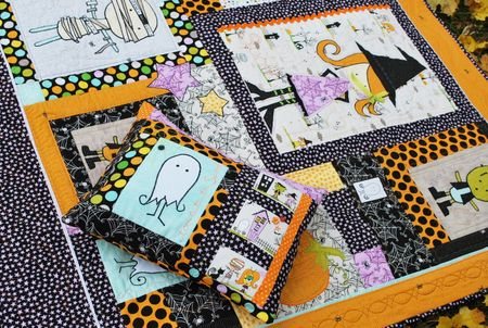 K Frye Photo 6 HalloweenPillowQuilt