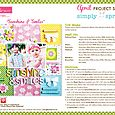 Simply Spring Project Sheet 2015